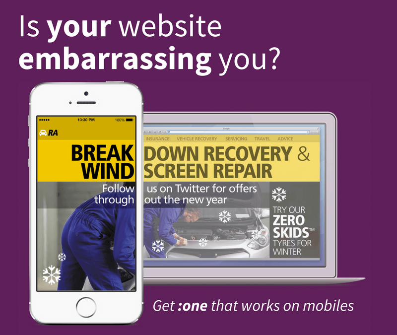 Is your website embarrassing you?