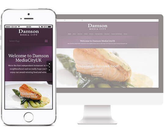 Damson Mini Websites