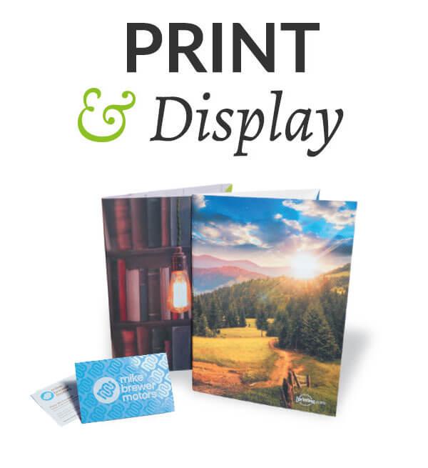 Selling Online - Print & Display