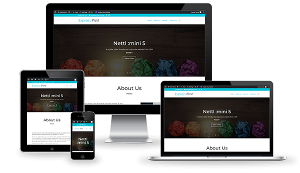 Nettl Mini 5 Website