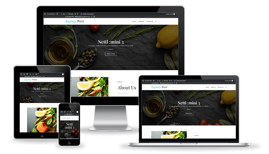 Nettl :mini responsive websites