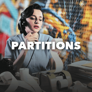 Spectacular Spaces - Partitions