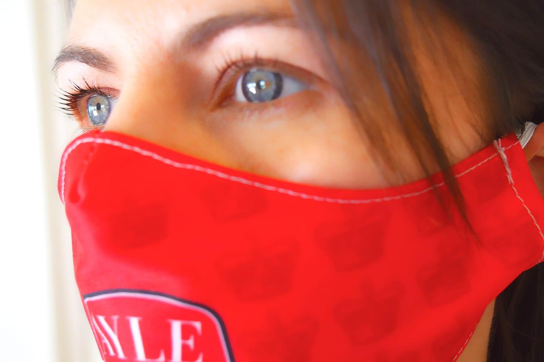 Red Premium Face Mask